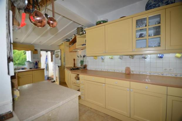 Spacious kitchen perfect for this large home