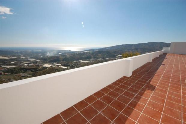Views from one of the terraces of this villa