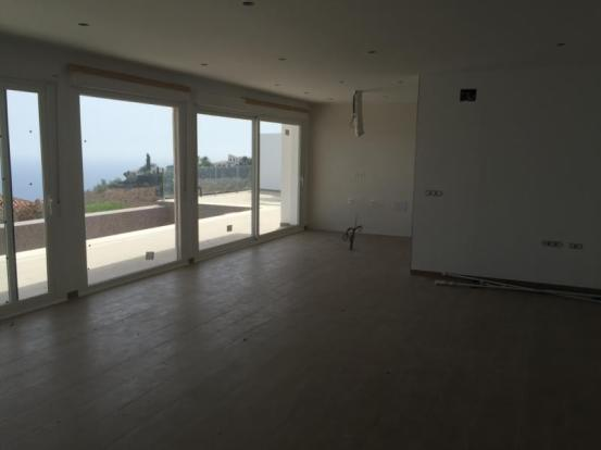 Part of open plan living area; opens to pool area