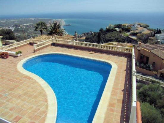 Great sea view from pool & throughout villa