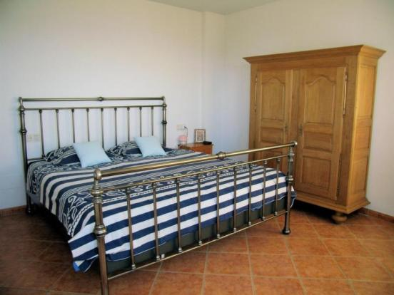 Main bedroom is large & has built in wardrobes too