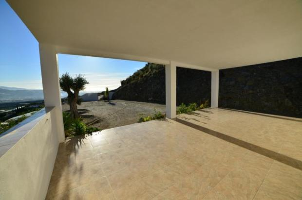 Enjoy sea view from the large covered terrace