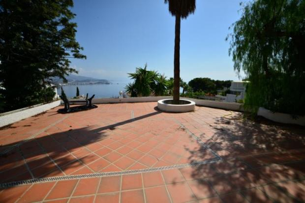 Large terrace with great sea views
