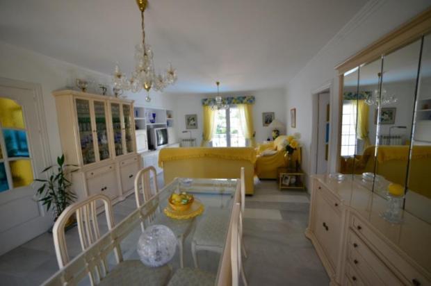 Formal lounge diner on entry level of villa