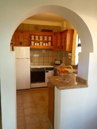 Kitchen on guest area (upper level of villa)