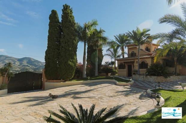 Entrance to this Andalucian villa