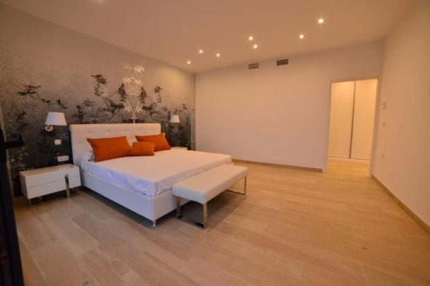 Spacious bedroom with terrace