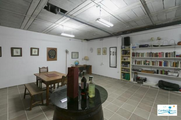 More of the wine cellar / party room