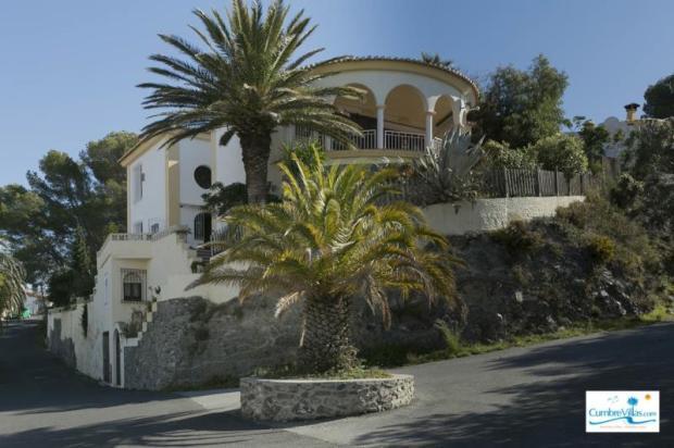 Facade of this villa in Andalucia Spain