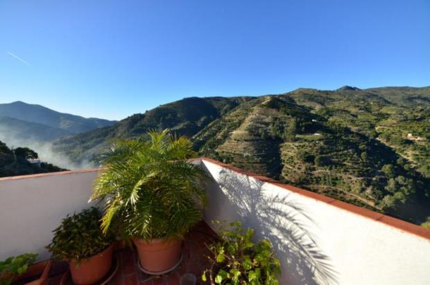 Lovely mountain view from the terrace