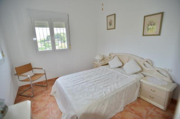 Bedroom in guest apartment