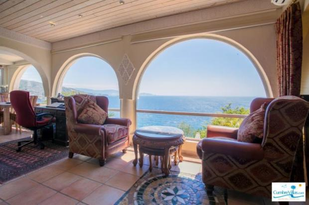 Great view from throughout the villa