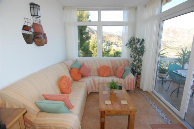 2nd sitting room, nice in winter, leads to terrace