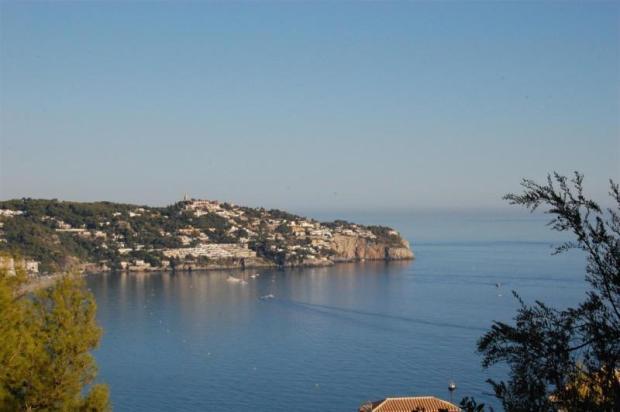 View to the beautiful bay of La Herradura