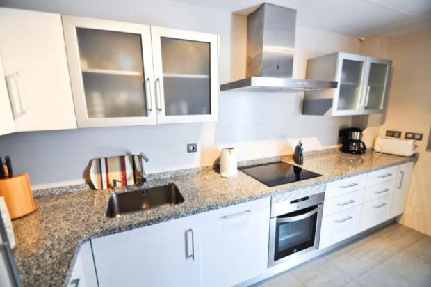 Part of the modern kitchen