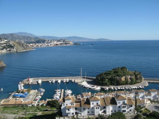 The beautiful marina is walking distance