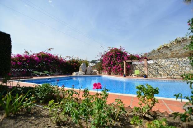 private pool & lovely garden