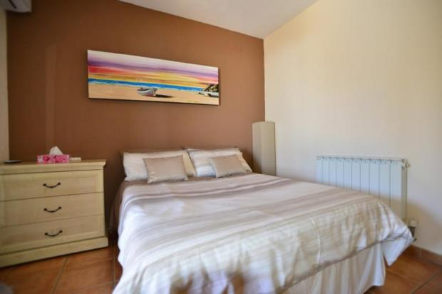 Master bedroom with air conditioning & heating
