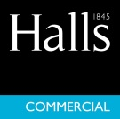 Halls Estate Agents, Commercial  logo