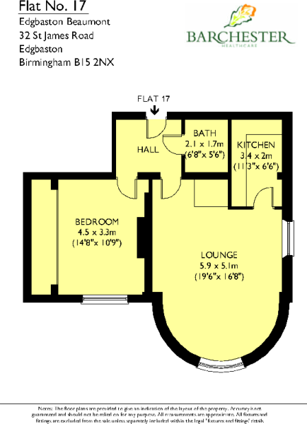 Flat 17 Floorplans