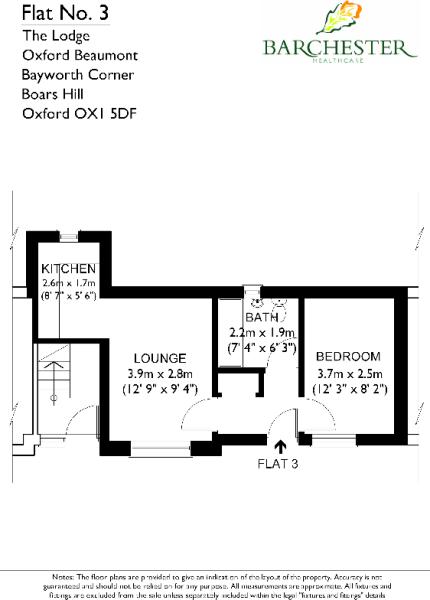 Flat 3 Floorplans