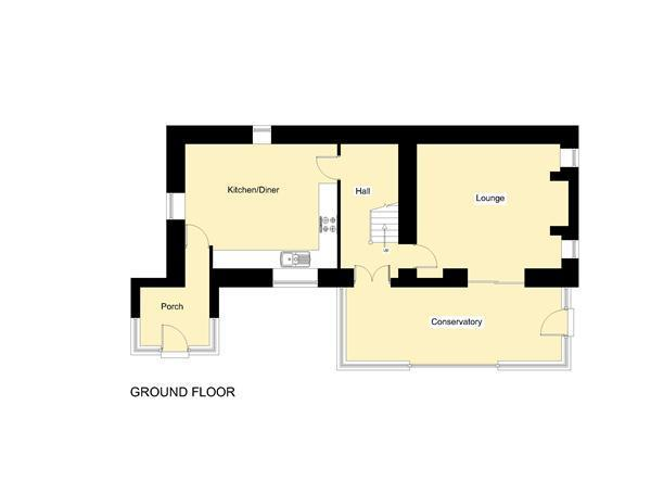 Floorplan - Main House - Ground Floor