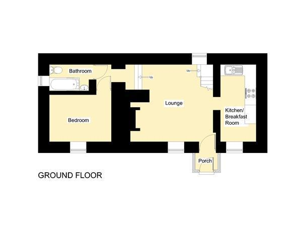 Floorplan - Cottage - Ground Floor