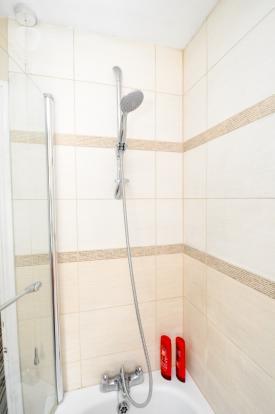 Shower over bath