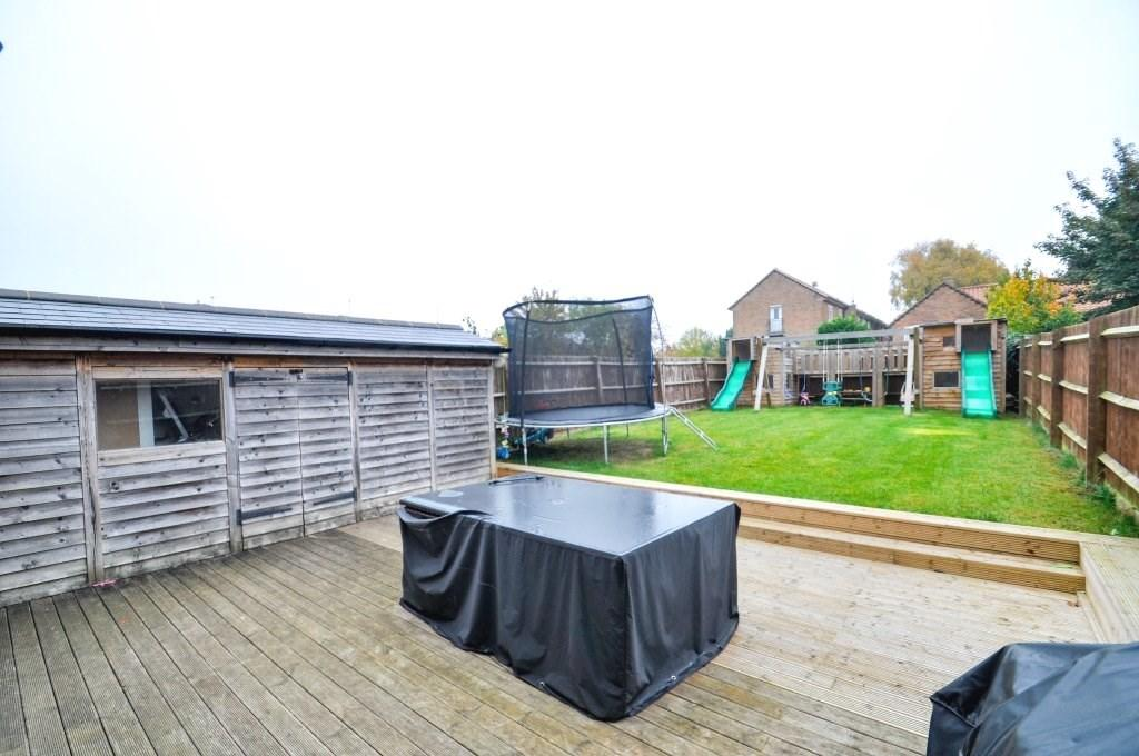 Deck & Utility Shed