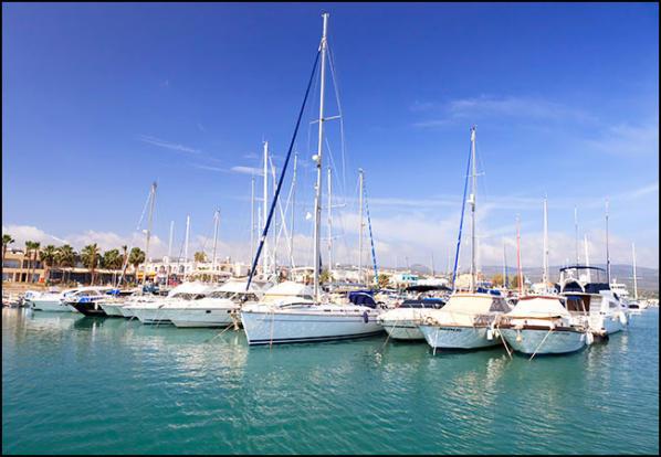 Latchi Marina Boats
