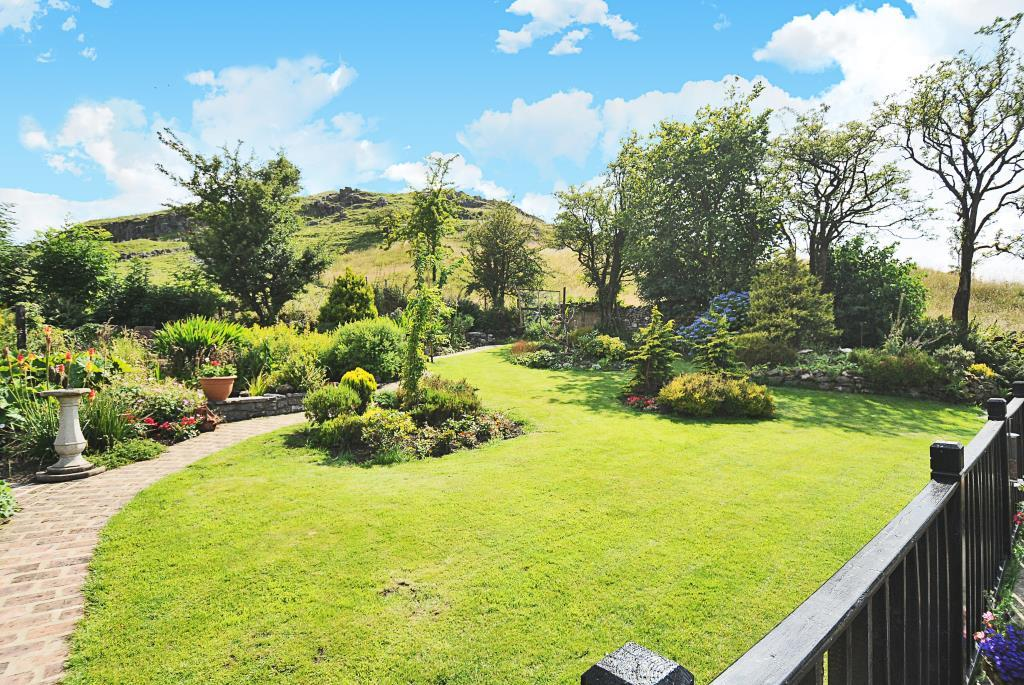 Garden View from decking seating area