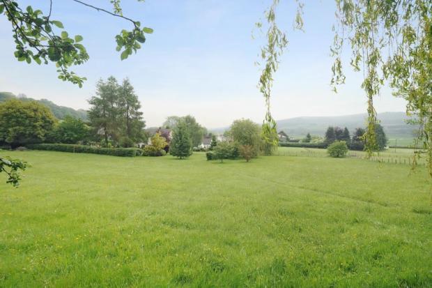 Large lawned gardens