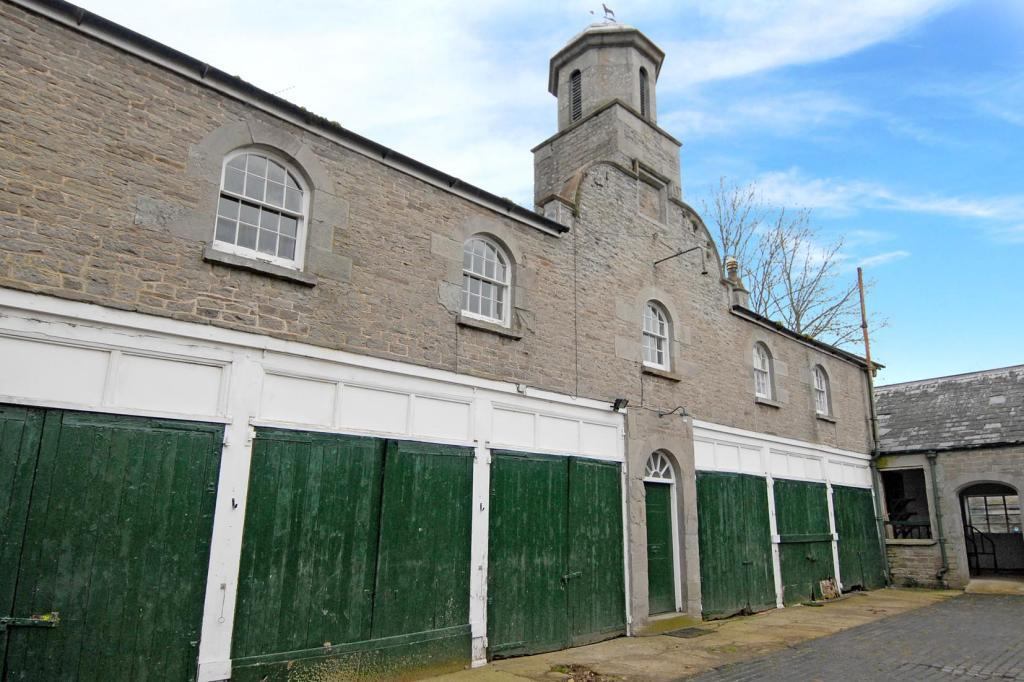 Former stable courtyard