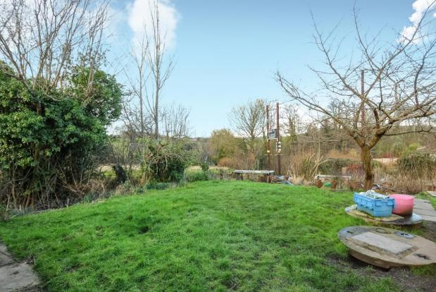 Mature gardens with lovley views