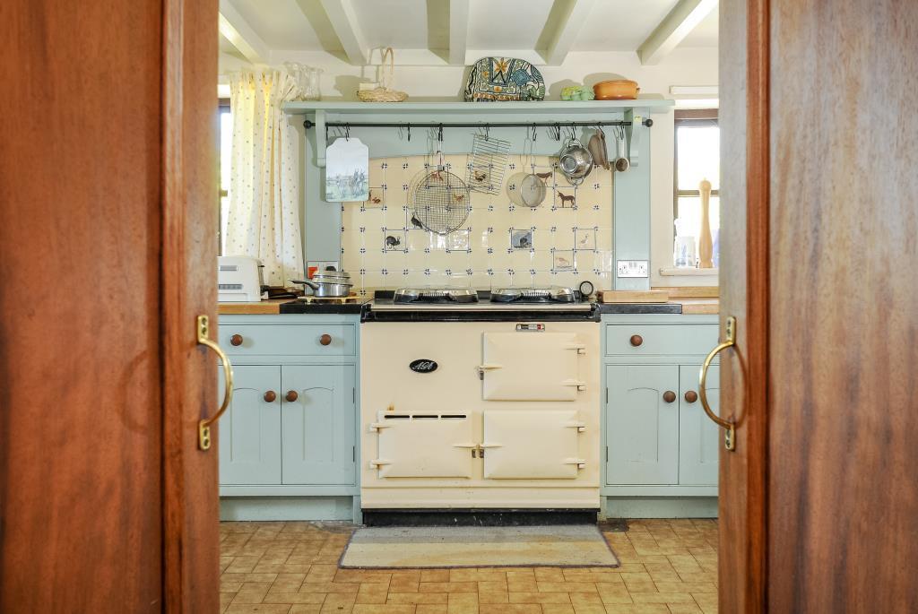 Kitchen with trdaitional AGA