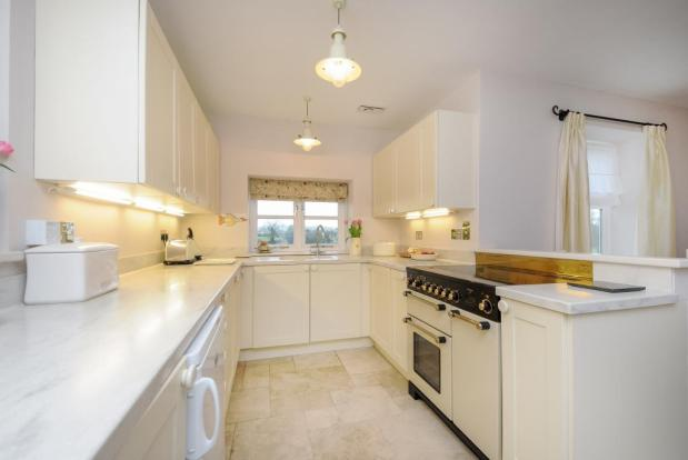 Extensively fitted kitchen in open living space