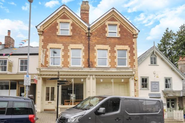 Freehold building with large shop and 3 bed flat