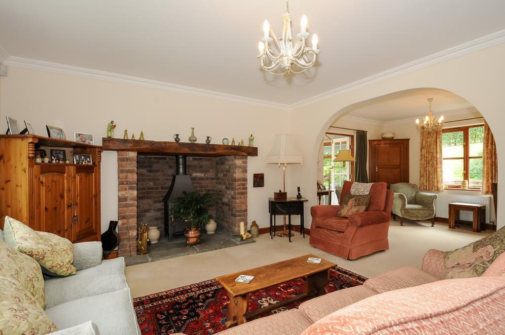 Well proportioned sitting  with quiet area off