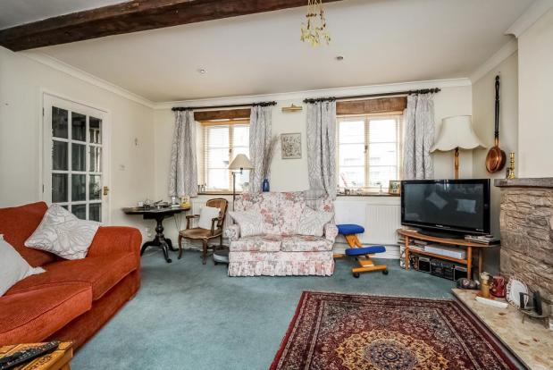 Well proportioned character sitting room
