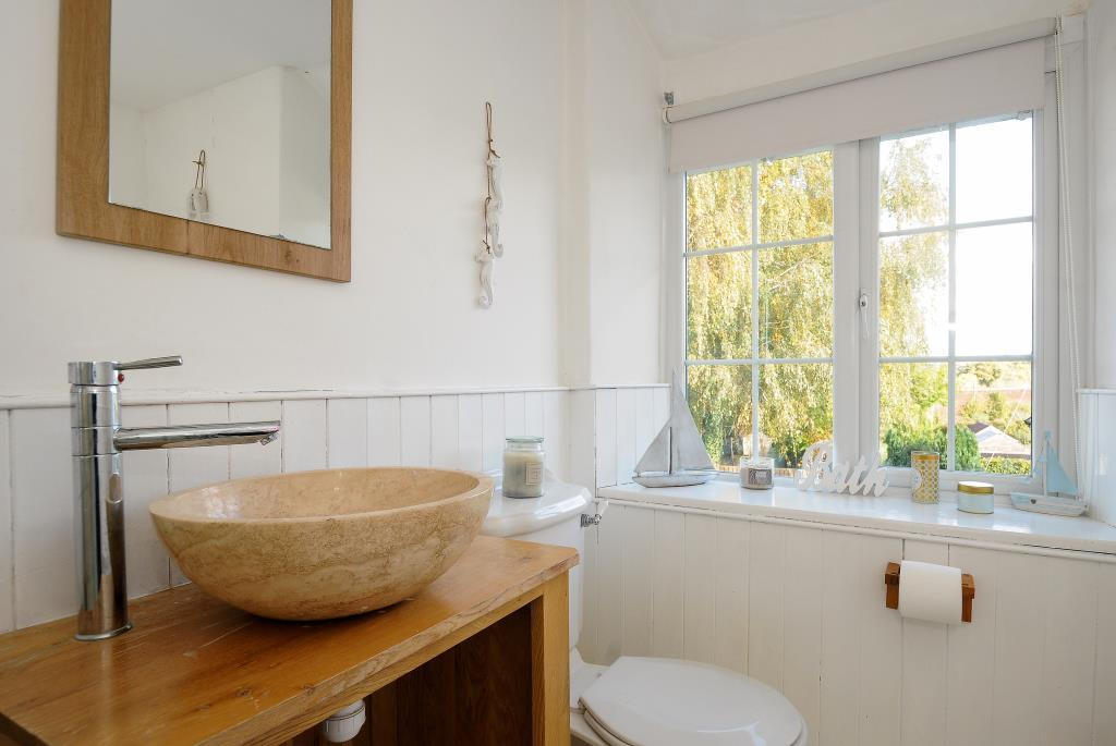 Family bathroom with bathh and shower