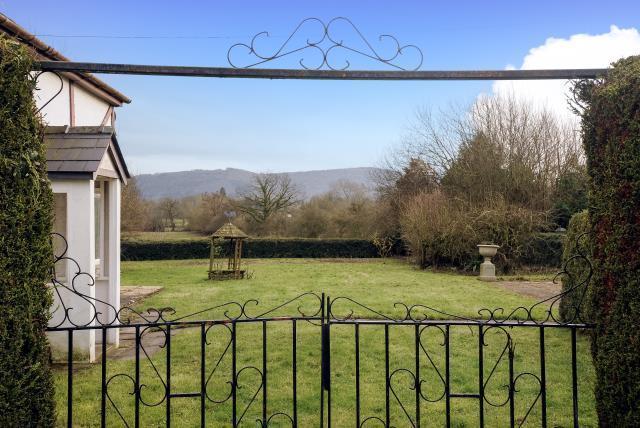 Garden view through the Gate
