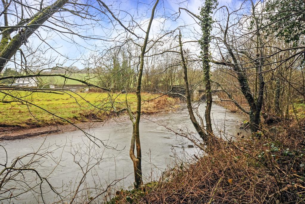 Grounds adjoining the River Llynfi