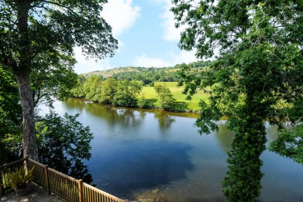 Unspoilt views along the River Wye