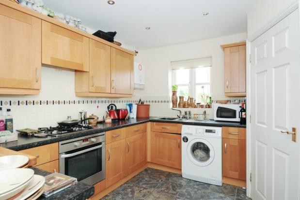 Well fitted kitchen with dining area