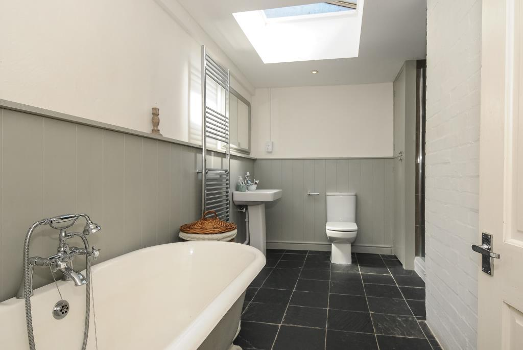 High quality family bathroom with shower