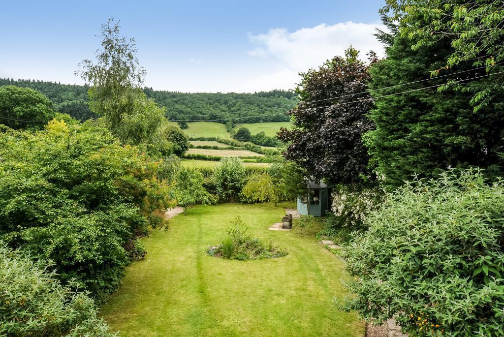 Lovely mature garden with views