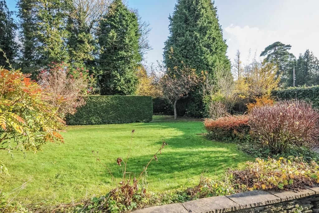 Lovely mature gardens with parking