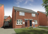 2 bed new property for sale in Summerlane West Wick...