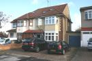 semi detached house in Mellows Road, Clayhall...