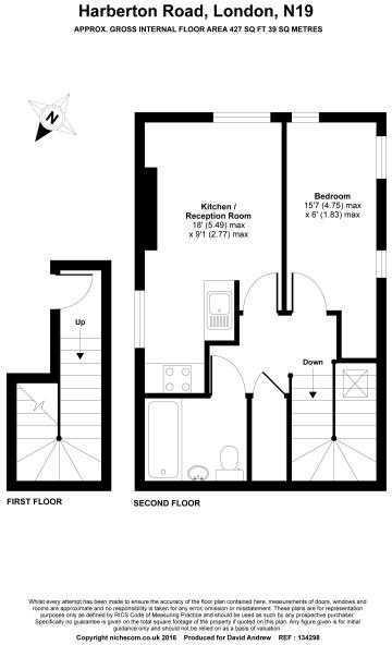 Flat 3, 110 Harberton Road FLOOR PLAN NEW